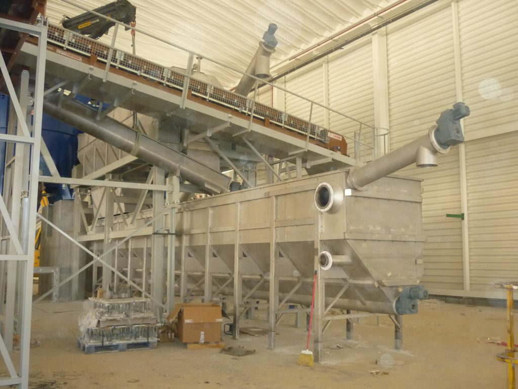 1 sectores depuración y reciclaje sinfín planta compacta