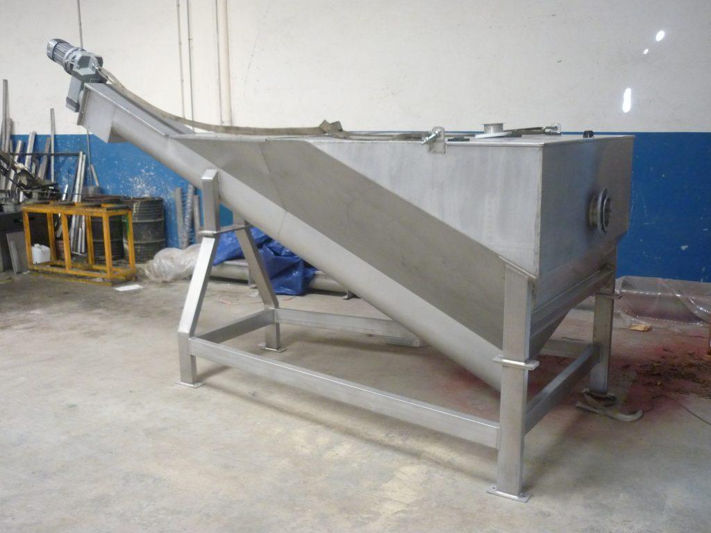 2 sectores depuración y reciclaje lavador de arenas desarenador