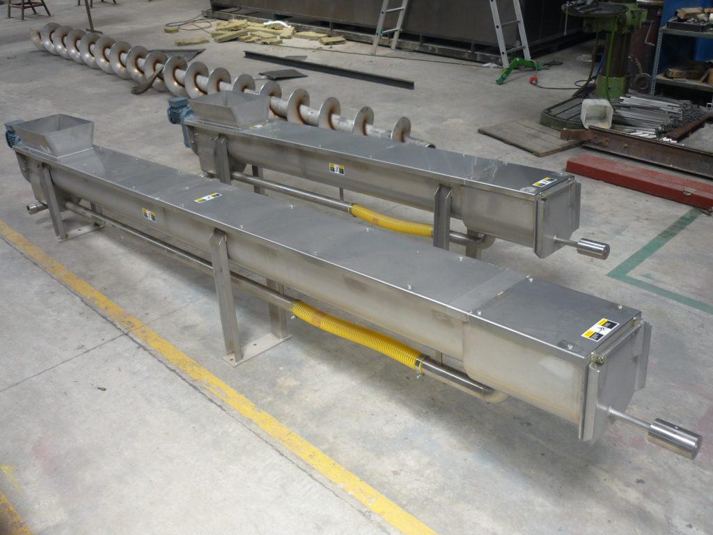 3 sectores depuración y reciclaje sinfín compactador