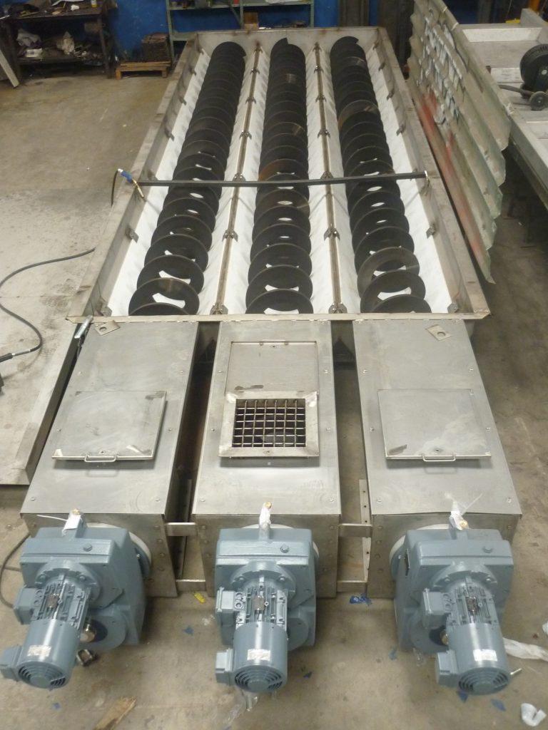 5 sectores depuración y reciclaje sinfín fangos