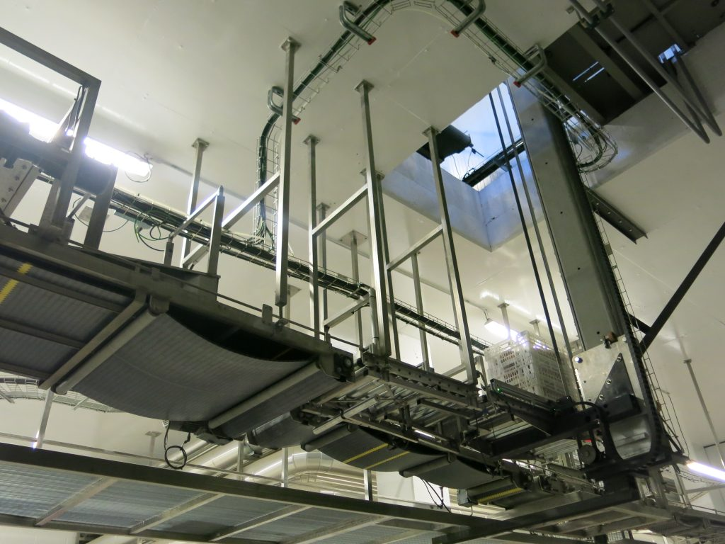 Elevators and descenders