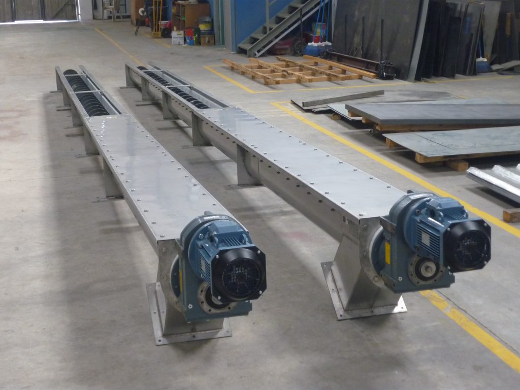 Purification and recycling augers