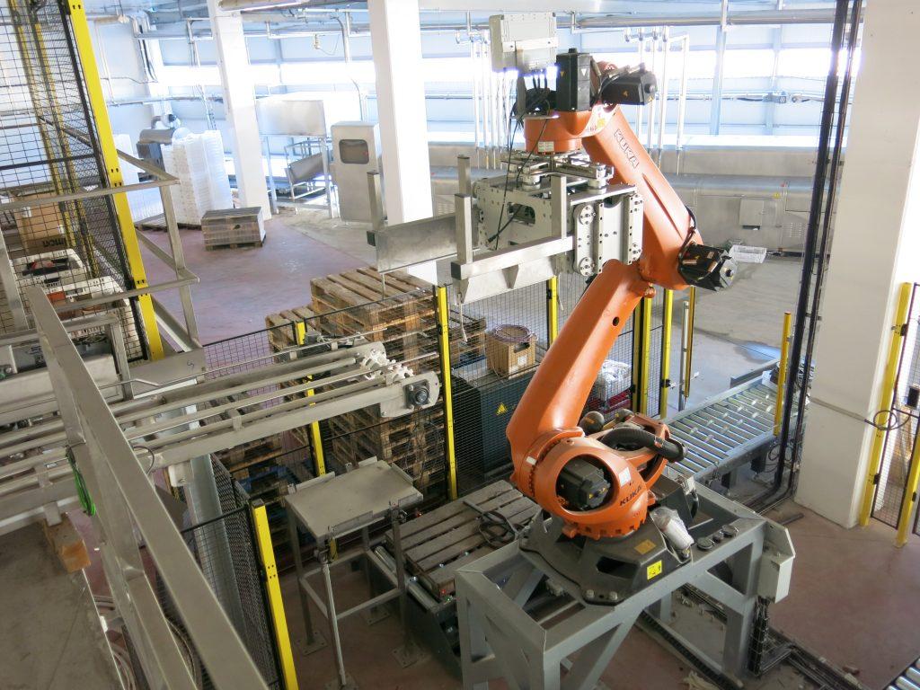 Installations robotisées