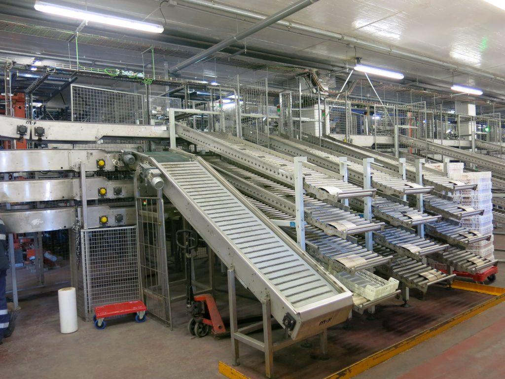 sectores logística - Transportadores de rodillos