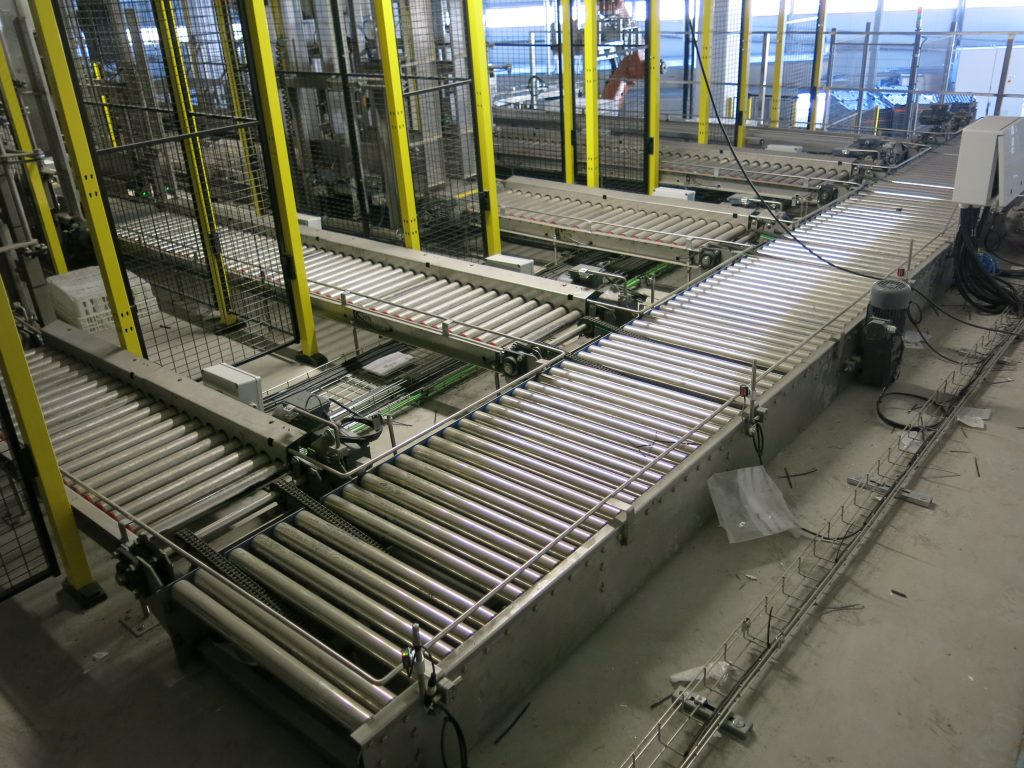 sectores logística - Transportadores de rodillos 3
