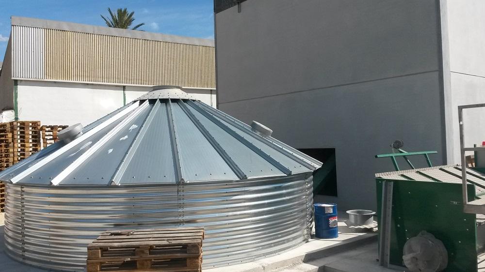 Montaje silo biomasa 3