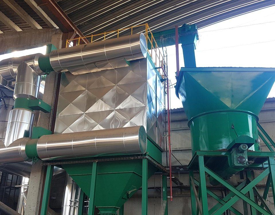 Tolva para biomasa